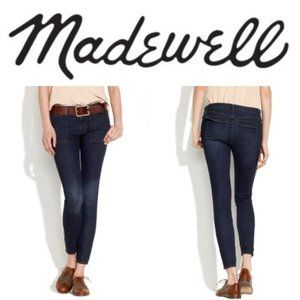 Madewell Skinny Switchyard, Ankle Zip, Size 27